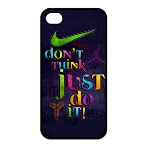 Just Do It Personalized TPU Case for Apple iPhone 4 4s