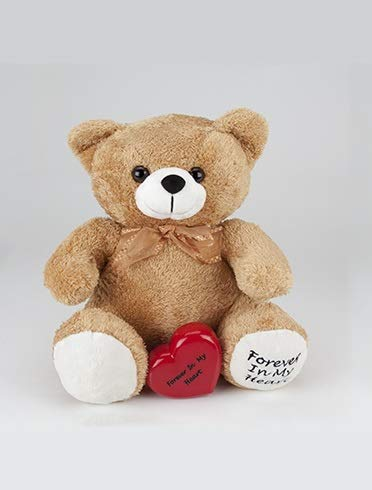 Pet Cremation Urn - Tan Teddy Bear Keepsake Urn (1 Urn Only). A Huggable Memorial For Both Adults And Children.