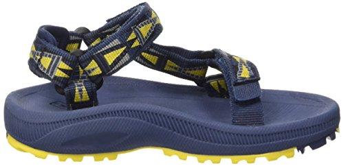 Teva T Hurricane 2 - Sandalias deportivas de Material Sintético para niño Azul (Mnyw)