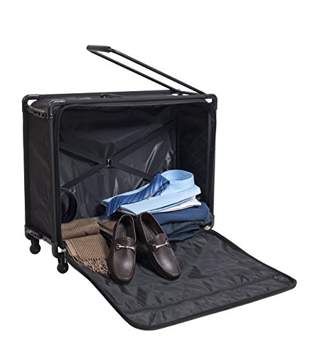 Tutto 28'' 4-wheel Collapsible Pullman (Black) by Tutto