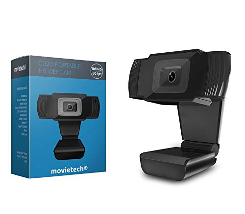 Computer Camera Webcam with Microphone 1080p HD USB Web cam with mic for Desktop Laptop mac Monitor TV