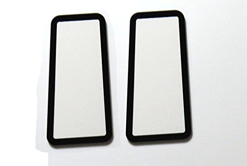 Shenligod Top Cover Outer LCD Screen Display Window Glass Protector For Canon EOS 60D SLR Digital Camera Repair Part +Tape ( 2PCS )
