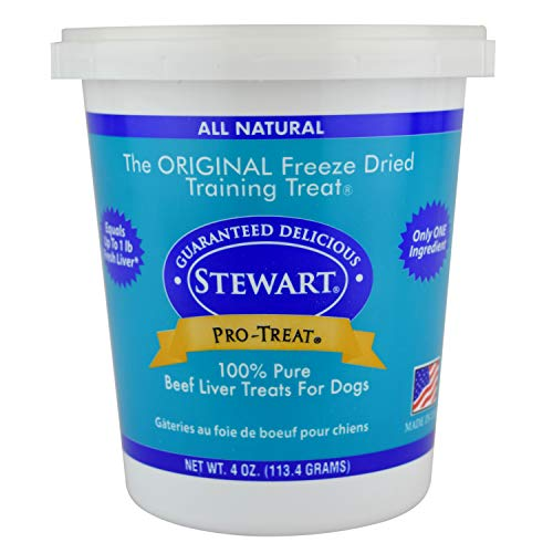 Stewart Freeze Dried Treats 4 oz Beef Liver]()
