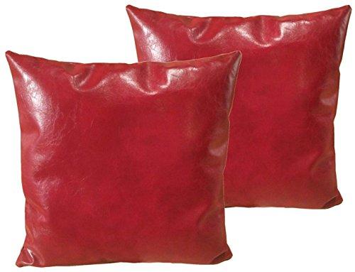 Mybestfurn Pillows leather Decorative Cushion product image
