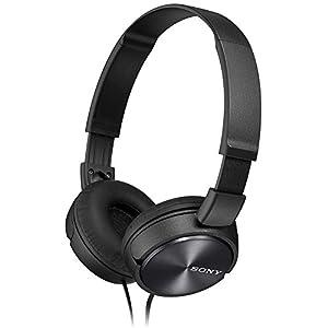 Sony Foldable Headphones - Metallic Black