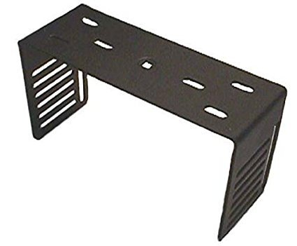 CB /Ham Radio Deep Mounting Bracket - Black - Workman DXX