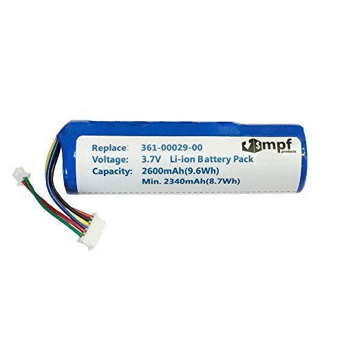 MPF Products 2600mAh High Capacity Extended 010-10806-01, 010-10806-20, 361-00029-00, 361-00029-01 Battery Replacement Compatible with Garmin Astro DC20, DC30, DC40 GPS Dog Tracking Collar Transmitter Dc 40 Dog Tracking
