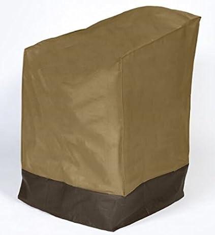 Dobar Heavy Duty Waterproof Vinyl Patio Chair Cover