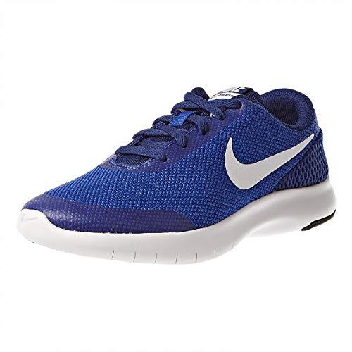 Nike Boy's Flex Experience RN 7 (GS) Running Shoes (4.5 M US Big Kid, Hyper Royal/White) (Kids Shoes Boys Nike Sale)