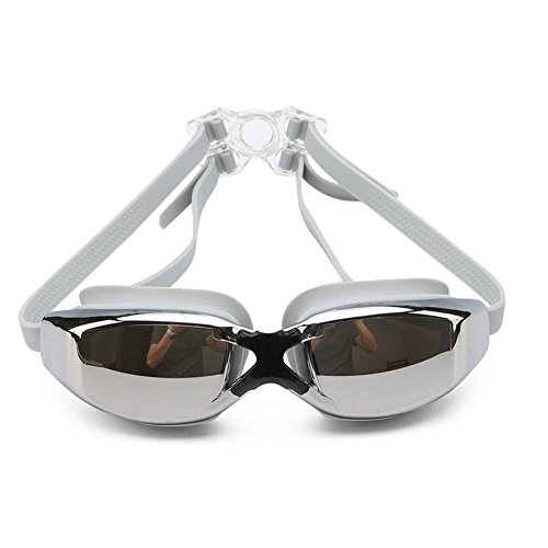 Swim Goggles, Swimming Goggles No Leaking Anti Fog UV Protection Triathlon Swim Goggles with Free Protection Case for Adult Men Women Youth Kids Child - Triathlon Goggles