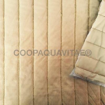 2R STOCK SRL Tela acolchada ante algodón tela relleno sintética Lale Camel: Amazon.es: Hogar