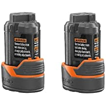 Ridgid R82009 Drill Replacement 130446011 12V Lithium-Ion Battery (2 PACK) # 130188001-2PK