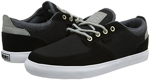 Etnies Hitch, Color: Black/Grey/Silver, Size: 45.5 Eu / 11.5 Us / 10.5 Uk
