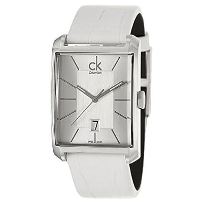 Calvin Klein Mens Window Analog Dress Quartz SWISS Watch (Imported) K2M21120