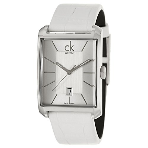 Calvin Klein Mens Window Analog Dress Quartz SWISS Watch (Imported) K2M21120