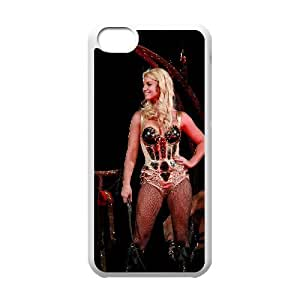 C-EUR Print Britney Spears Pattern Hard Case for iPhone 5C