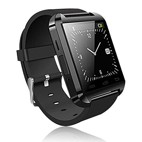Soyan U8 UWatch Gear SmartWatch WristWatch Phone with Touch Screen For Android Phones(Full functions) and For IPH (partial functions) Black