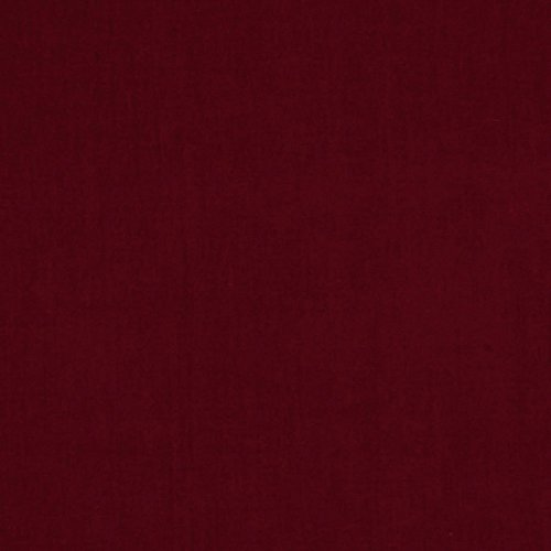Santee Print Works Fashion Solids Burgundy Fabric by The Yard,