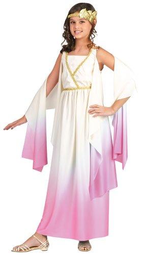 (Fun World Little Girl's Athenus Children Costume, Multi Color,)