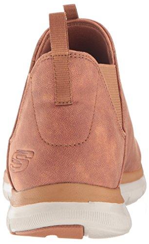 femme basse Flex Deal Done 0 2 Appeal Skechers marronnier Chaussure p8xOgSw