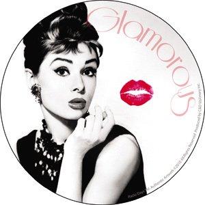 Amazon.com: Audrey Hepburn - Kiss - Die Cut Vinyl Sticker Decal