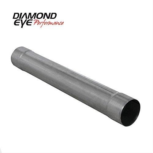 Pipe Muffler Duramax Delete - Diamond Eye 510210 Muffler