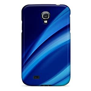 Brand New S4 Defender Case For Galaxy (blue Swirls) by lolosakes