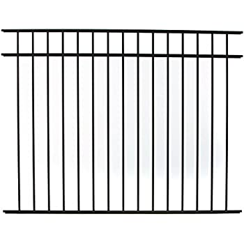Amazon Com Specrail Diy Fence Rr9543bl Bethany Aluminum