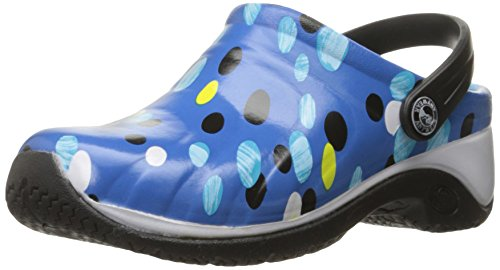 Anywear Womens Zone Health Care and Food Service Shoe Blue