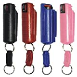 Pepper Shot 1/2 oz Pepper Spray w/Black Injection Molded Holster & Quick Key Release Key Chain Review