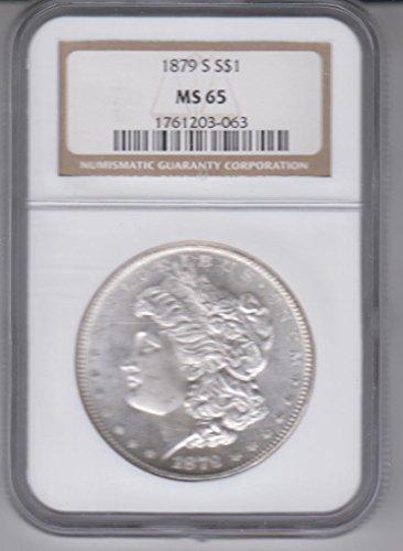 1879 S Morgan Silver Dollar- Certified $1 MS65 NGC