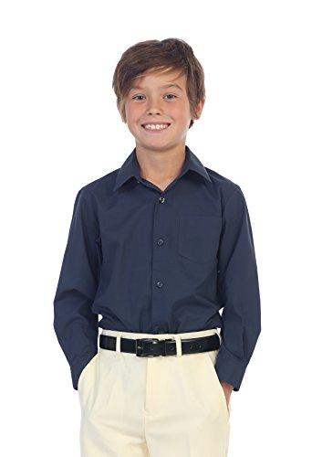 Navy Blue Boys Shirt - 6