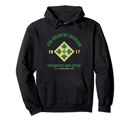 4th INF DIV Steadfast and Loyal Hoodie