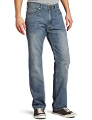Levi\'s Men\'s 505 Regular Fit Jean,Medium Chipped,33x30