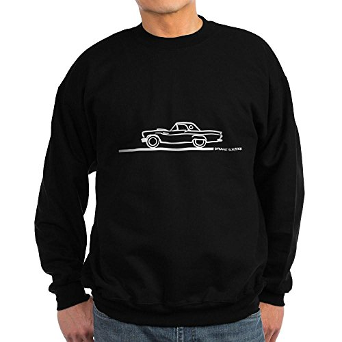 CafePress - 1957 Thunderbird Hard Top Sweatshirt (dark) - Classic Crew Neck Sweatshirt Black