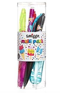 Bote de 6 bolígrafos de la marca Smiggle