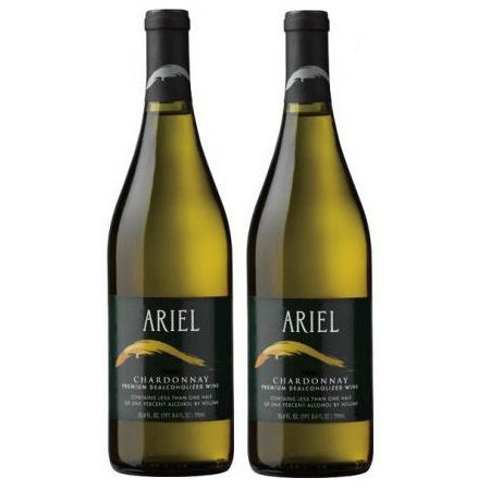 Ariel Chardonnay Non-alcoholic White Wine Two Pack (Pack of 2)