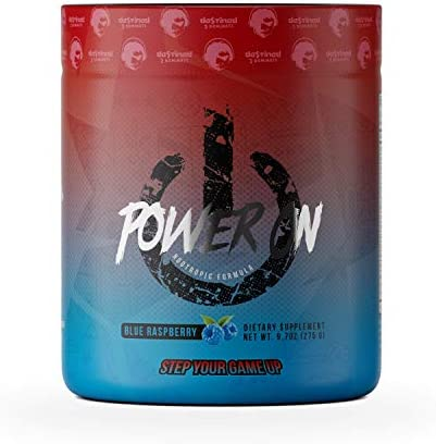 Power ON Nootropic Supplement – The First Effervescent Super Nootropic Brain Booster for Gamers – Enhance Mental Focus, Boost Concentration Clarity with Alpha GPC Multivitamins – Blue Raspberry