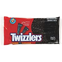 TWIZZLERS Black Licorice Candy, 375 Gram