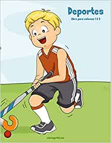 Deportes libro para colorear 1 & 2 (Spanish Edition): Nick Snels: 9781723280283: Amazon.com: Books