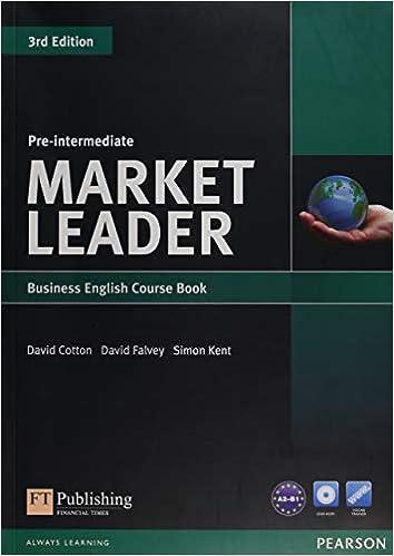 Market Leader Pre-intermediate + Students Book