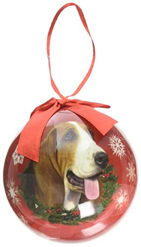 Ornament Hound Tree Christmas - Basset Hound Christmas Ornament Shatter Proof Ball Easy To Personalize A Perfect Gift For Basset Hound Lovers
