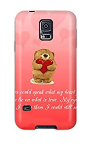 Galaxy Cover Case - Love Protective Case Compatibel With Galaxy S5