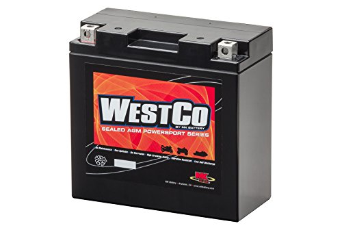 WestCo 12V14B-4 Factory Activated Maintenance-Free Rechargeable Sealed Lead-Acid Battery by MK Battery