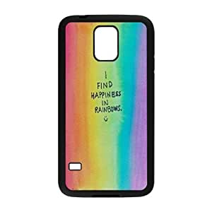 UNI-BEE PHONE CASE For Samsung Galaxy S5 -Colorful Rainbow Pattern-CASE-STYLE 19