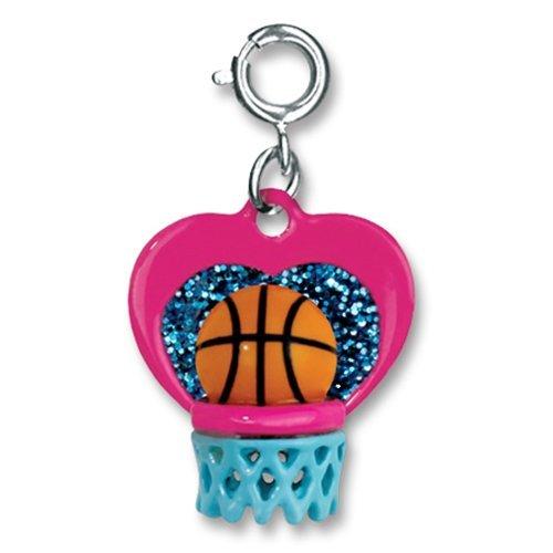 CHARM IT! I Love Hoops Basketball Charm