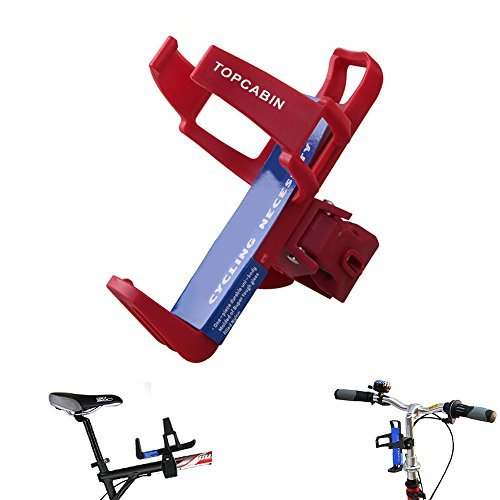 TOPCABIN Adjustable Bike Bicycle MTB Water Bottle Holder Water Bottle Rack Cage