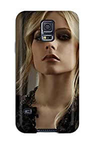 High Quality Celebrity Avril Lavigne Case For Galaxy S5 / Perfect Case