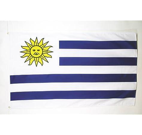 AZ FLAG Bandera de Uruguay 250x150cm - Gran Bandera URUGUAYA 150 x ...