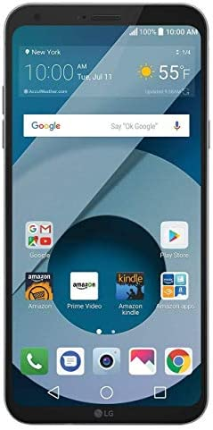 LG Q6 (US700) 32GB GSM Unlocked 4G LTE Android Smartphone w/ 13MP Camera and Face Recognition - Arctic Platinum (Renewed) WeeklyReviewer